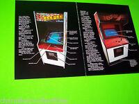 HEAD ON GEE BEE By GREMLIN SEGA 1979 ORIGINAL VIDEO ARCADE GAME PROMO FLYER
