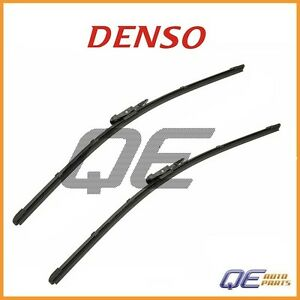 2 Front BMW 128i Ford Mustang Land Rover Mercury Windshield Wiper Blade 1610120