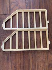 Vtg. 1979 Barbie Mattel Dream House Replacement Rail A Frame Railing Pair