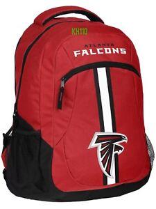 NFL Atlanta Falcons Logo Action Backpack ( School, Work,Travel)