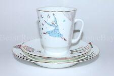 Russian Imperial Lomonosov Porcelain Tea cup 3pc Romeo and Juliette ballet RARE