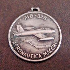 Aeronautica MACCHI MB-326 Silver Flight Medal - 800 Silver c1960's RARE!