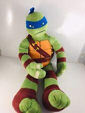 """Teenage Mutant Ninja Turtles LG 23"""" Leonardo Plush Toy Playmates"""