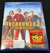 Anchorman 2 ( Bluray ) BRAND NEW AND SEALED