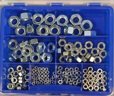 Sechskantmuttern Sortiment Box klein DIN 934 verzinkt  161-teilig M 3 - M 12 Neu