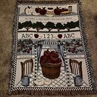 Apple A Day Keeps The Doctor Away Tapestry New 2002 51x68