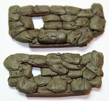"1/35 Sherman M4A3 Sandbag Fronts ""SB1"" - Resin (2 Pack) - Value Gear Details"