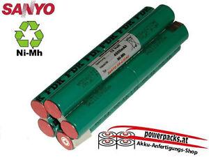 Tauchlampen Akku, anfertigung für alle Modelle SANYO 4/3FAU 12V4500mAh
