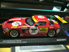 MERCEDES BENZ SLS AMG GT3 24h Spa Heyer Jäger black Falcon #35 Minichamps 1:18