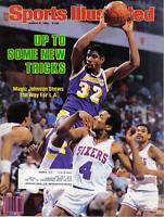 1984 3/5 Sports Illustrated basketball magazine Magic Johnson Los Angeles Lakers