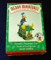 1998 Hallmark Donalds Passenger Car Mickey Express Merry Miniatures Disney train