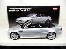 BMW M3 E46 Convertible silver grey Kyosho 1:18 SHIPPING FREE