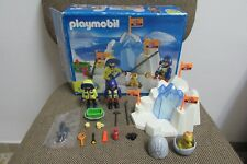 Playmobil - Expedicion Polar - Dinosaurio Huevo Roca Hielo - 3193 - COMPLETO OVP