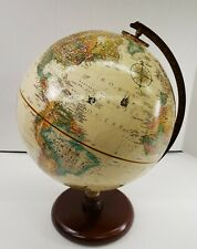 Replogle Globe 9� World Classic Series Made Usa Hardwood Base