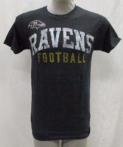 Baltimore Ravens NFL Men's Raised-Style Graphic's Short Sleeve T-Shirt