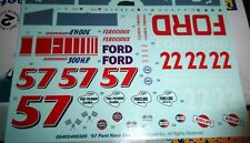 R57FB FORD DECALS #22.#57 PURE, AIRLIFT 1/25 MODEL CAR MOUNTAIN