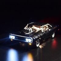 ONLY LED Light Lighting Kit For LEGO 42111 Technic Doms For Dodge Charger  ^