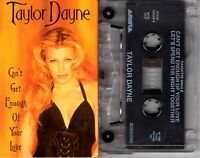 Taylor Dayne Can't Get Enough Of Your Love Cassette Tape Single Pop Dance Rock