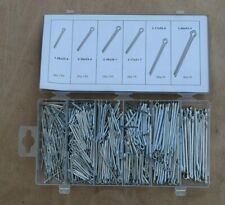 555pc Cotter Pins Split Pin Fixings Assorted Assortment Set + Storage Case