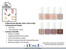 IBD Just Gel Polish - All 8 colors: 65725-65732 - NUDE 2017 Collection - NEW!