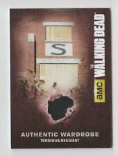 The Walking Dead AMC Costume Trading Card Terminus Resident M10.8 (01)