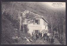 COMO BRUNATE 76a SAN MAURIZIO - BAITA BONDELLA Cartolina viaggiata 1916