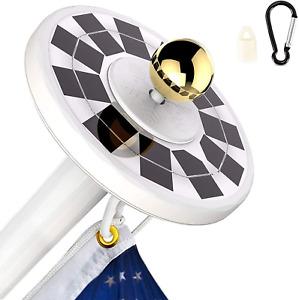 Solar Flag Pole Light 56 LED 800Lumens Solar Flagpole Light for Most Poles IP67