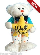 BEANIE KIDS WILLIE THE WELL DONE BEAR BK2-218 DECEMBER '15 NEW RELEASE