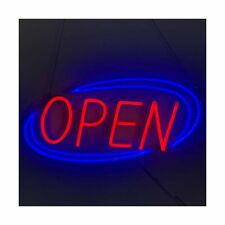 Neon Sign Open Led Open Sign for Business Displays: Led Neon Light Sign 19.7�.