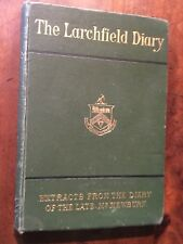 1876 -  The Larchfield Diary.  Mr Newburn, first Railway Solicitor.