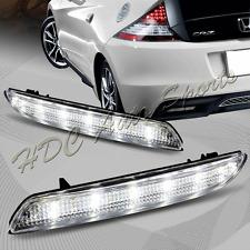For 2011-2014 Acura TSX/Honda Insight JDM Clear Lens LED Bumper Brake Light Lamp