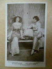 Vintage Theatre Postcard- KATE CUTLER & VIOLET VANBRUGH in THE FIRE SCREEN