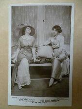 Vintage Theatre Postcard- KATE CUTLER & VIOLET VANBRUGH in THE FIRE SCREEN