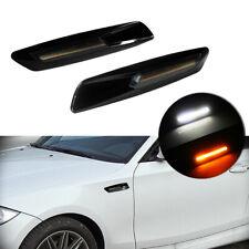 18 LED Smoked LED Side Marker Light Lamp for BMW 1 3 5 X3 Series White/Amber