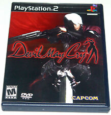 Playstation 2 - Devil May Cry  - Game, Case, Manual - Tested- Original Print Run