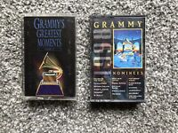 Lot Of 2 Cassettes - Grammy's Greatest Moments & Grammy Nominees 1998. See Pics.