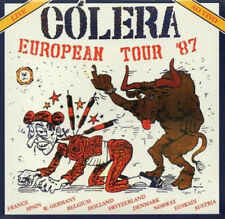CÓLERA european tour 87 BRA original a.indie - metal punk trash brazil / brasil