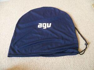Original AGV Motorcycle Crash Helmet Protect Bag BLUE  - MINT- LOOK!