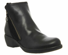 FLY London Zip 100% Leather Boots for Women
