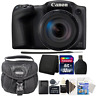 Canon PowerShot SX430 IS Digital Camera Black with Accessory Kit