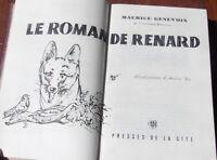 LE ROMAN DE RENARD  MAURICE GENEVOIX