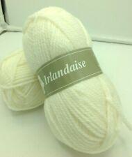 10 pelotes laine irlandaise couleur: blanc - fabriqué en France