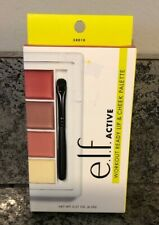 New Elf Gym Chic Active Workout Ready Lip & Cheek Palette, Performance Formula