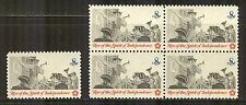 US #1477, 1973 8c Posting a Broadside - Colonial Communications, S/B4 Unused NH