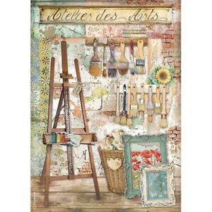 Stamperia Atelier des Arts - Easel Rice Paper A4