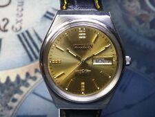Vintage Citizen Automatic Gents Watch Gold Face