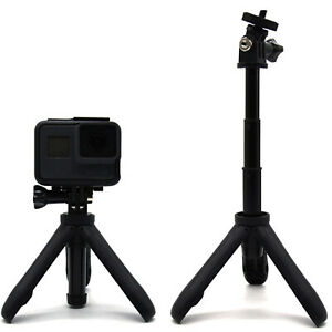 Extendable Selfie Stick Tripod for Gopro, Mini Extention Handheld Pole UK Stock