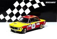 BMW 2002 Preis der Nationen Hockenheim 1970 Jörg Obermoser #68 Minichamps 1:18