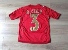 England Football Shirt A. Cole # 3 2006-2008 UMBRO taille MB voir description