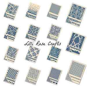 Tattered Lace Embossing Folders - Butterflies - Spring - REDUCED TO CLEAR